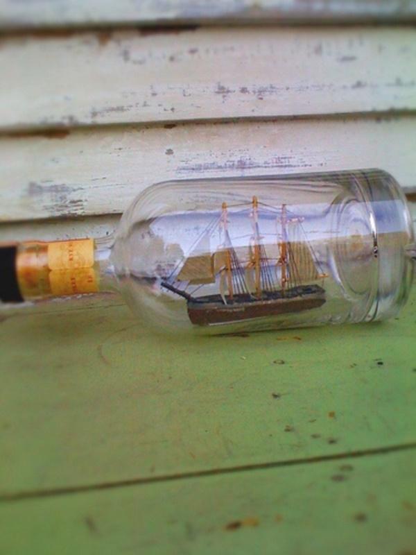 Incredible Ship inside Bottle Art Works0001