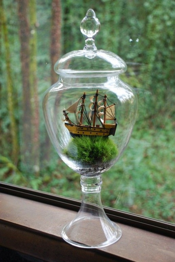 Incredible Ship inside Bottle Art Works0041