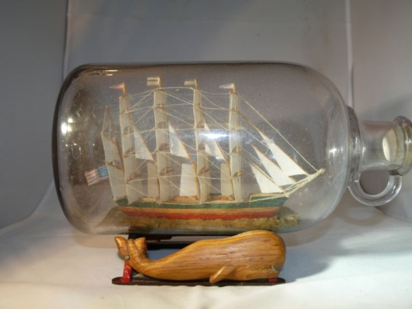 Incredible Ship inside Bottle Art Works0081