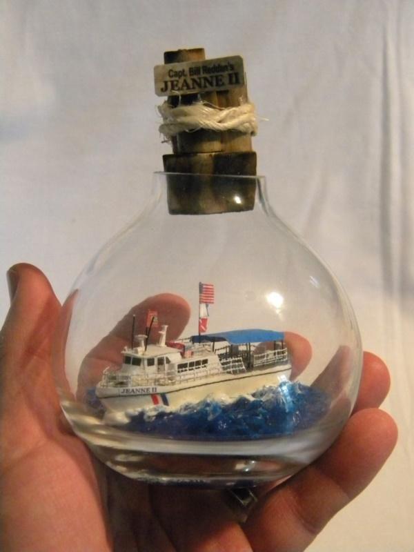 Incredible Ship inside Bottle Art Works0091