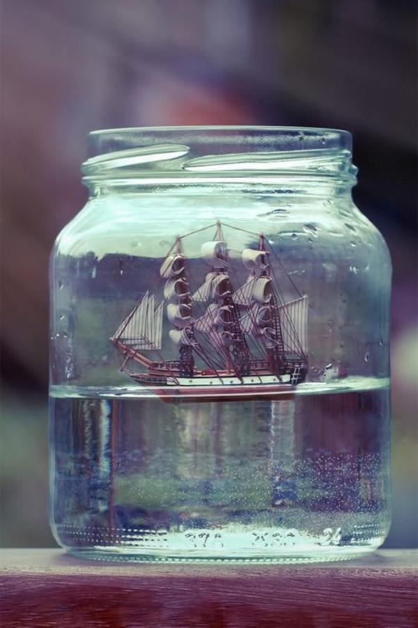 Incredible Ship inside Bottle Art Works0101