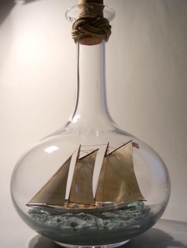Incredible Ship inside Bottle Art Works0121