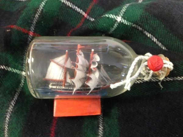 Incredible Ship inside Bottle Art Works0131