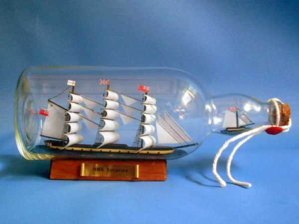 Incredible Ship inside Bottle Art Works0171