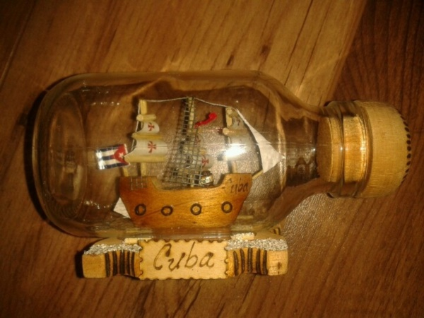 Incredible Ship inside Bottle Art Works0221