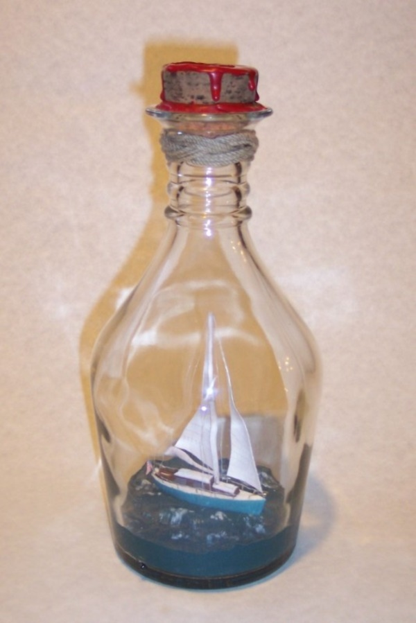 Incredible Ship inside Bottle Art Works0231