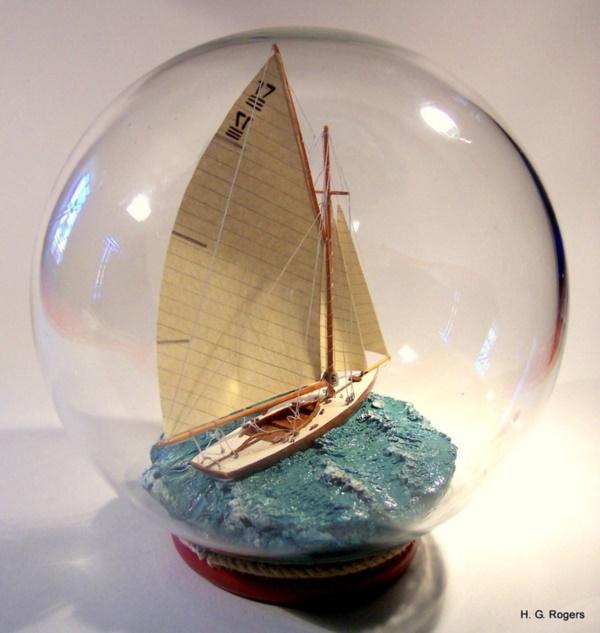 Incredible Ship inside Bottle Art Works0271