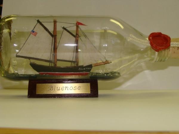 Incredible Ship inside Bottle Art Works0291