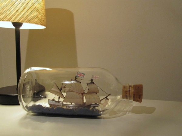 Incredible Ship inside Bottle Art Works0301