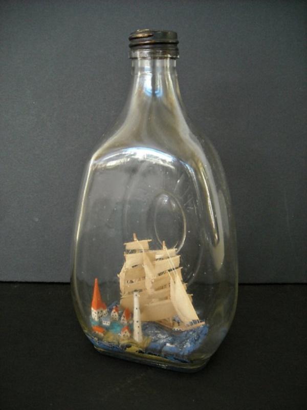 Incredible Ship inside Bottle Art Works0351