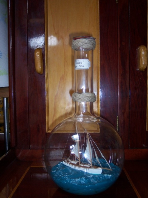 Incredible Ship inside Bottle Art Works0371