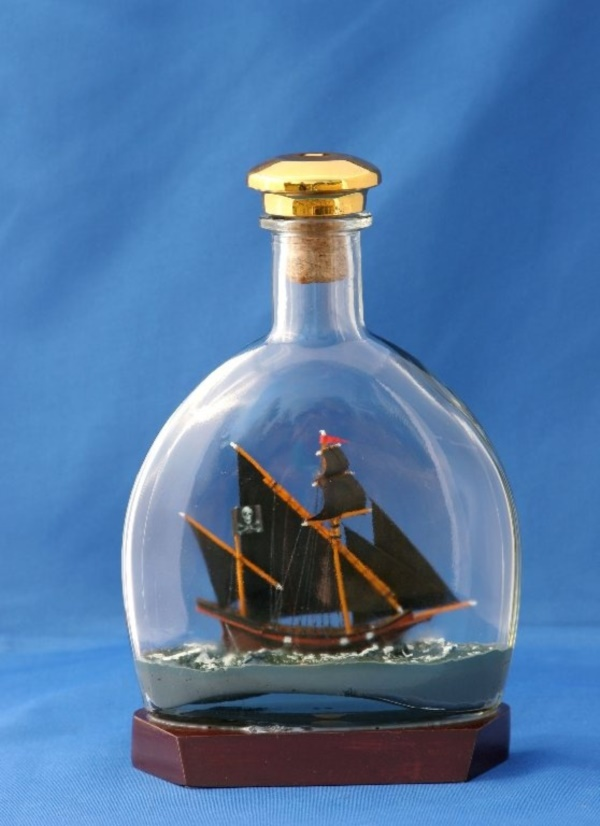 Incredible Ship inside Bottle Art Works0381