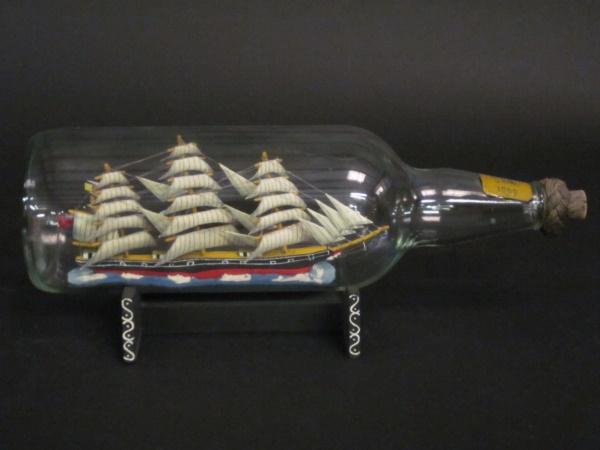 Incredible Ship inside Bottle Art Works0391