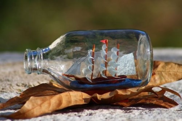Incredible Ship inside Bottle Art Works0401