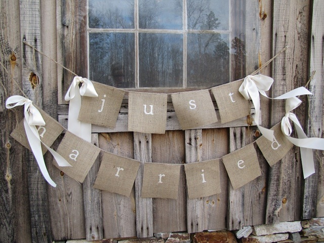 Diy Wedding Word Banners: 50 Useful Wedding Banner Ideas And Signs