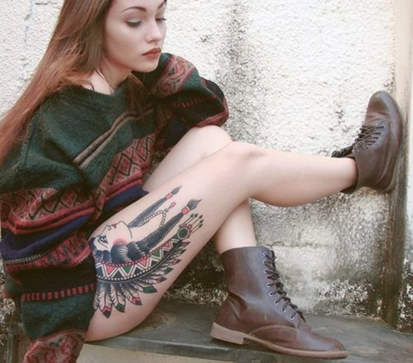Thigh tattoos for girls1-001