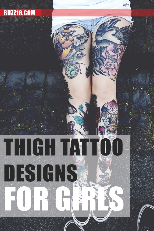 Thigh tattoos for girls1.1