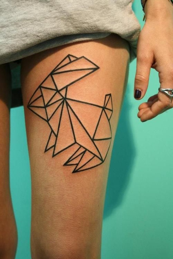 Thigh tattoos for girls10-010