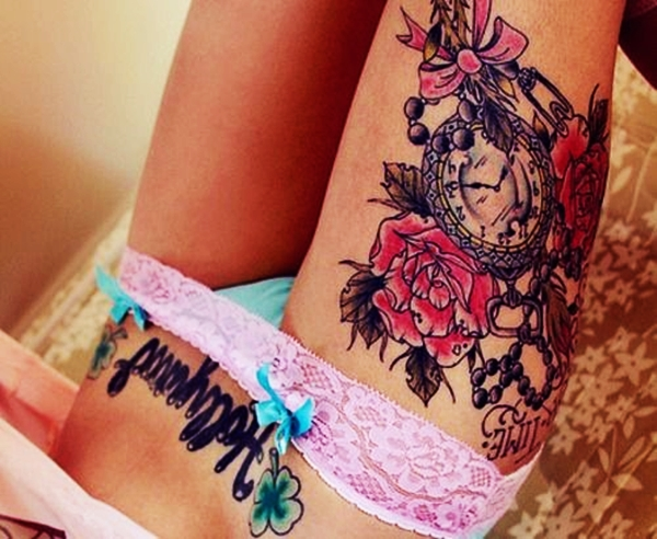 Thigh tattoos for girls32-032.2