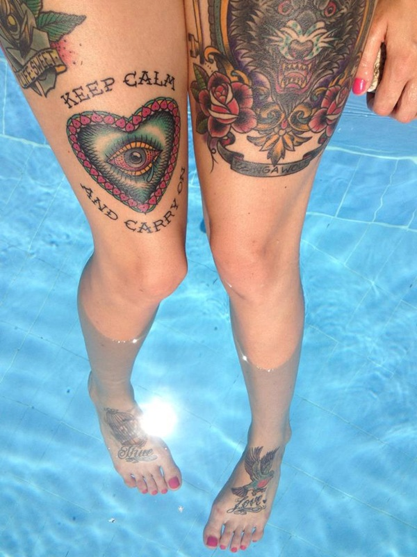 Thigh tattoos for girls32-032