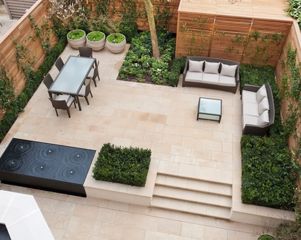 modern garden design ideas to try in, Natural flower