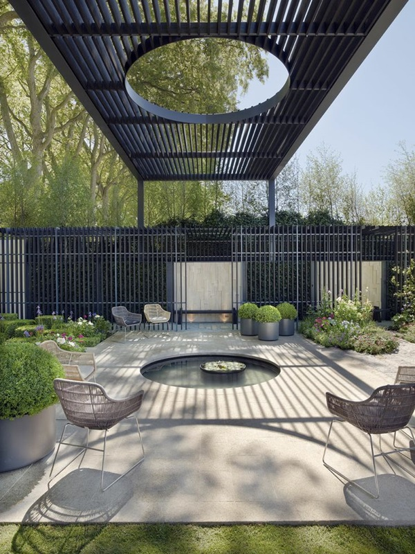 50 modern garden design ideas to try in 2017 for Modern garden design