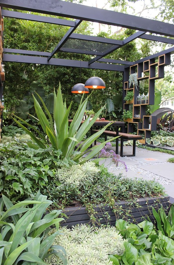 50 modern garden design ideas to try in 2017 for Garden design ideas