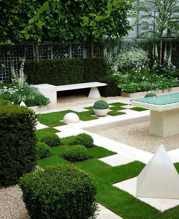 Modern Garden Design Ideas: 50 Modern Garden Design Ideas To Try In 2017