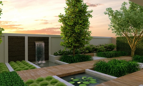 50 modern garden design ideas to try in 2017 for Contemporary gardens
