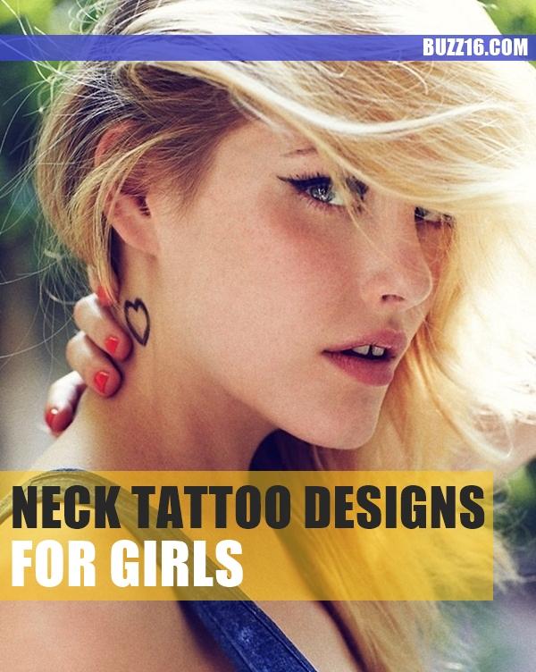 neck tattoos ideas for girls1.1