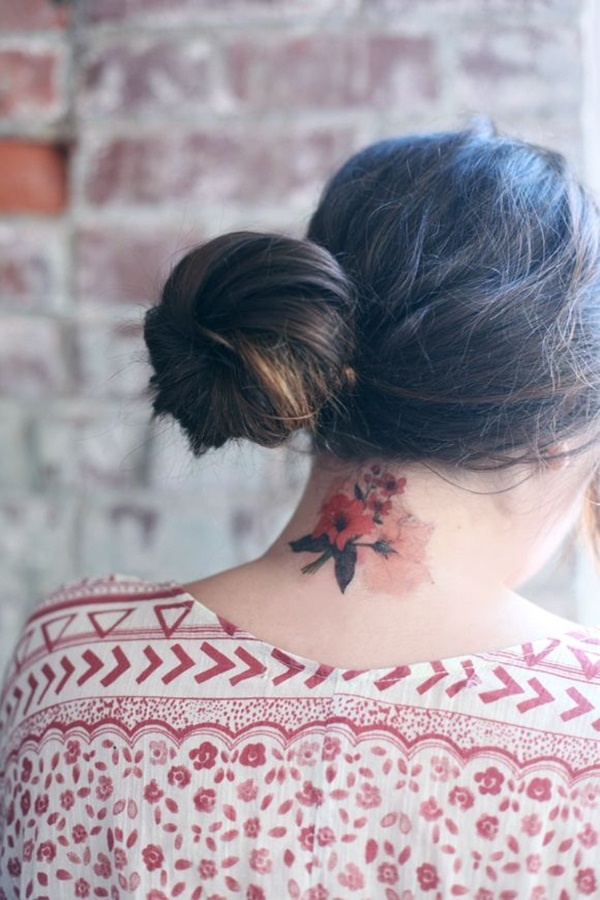 neck tattoos ideas for girls5-005