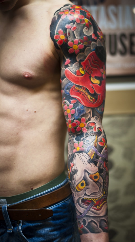 50 amazing irezumi tattoo design ideas. Black Bedroom Furniture Sets. Home Design Ideas