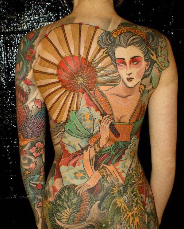 50 Amazing Irezumi Tattoo Design Ideas0401