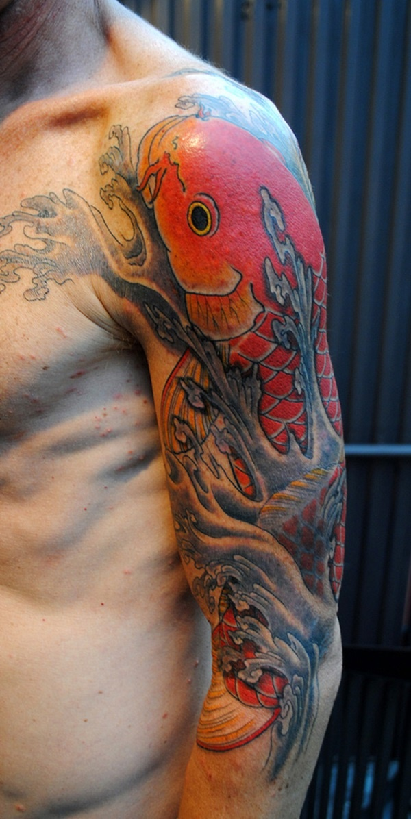 50 Cool Japanese Sleeve Tattoos for Awesomeness0001