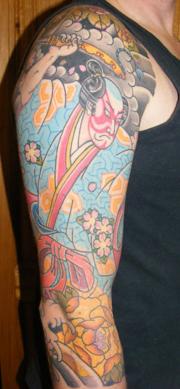 50 Cool Japanese Sleeve Tattoos for Awesomeness0251