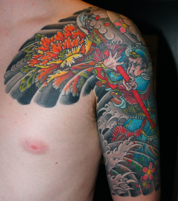 50 Cool Japanese Sleeve Tattoos for Awesomeness0301
