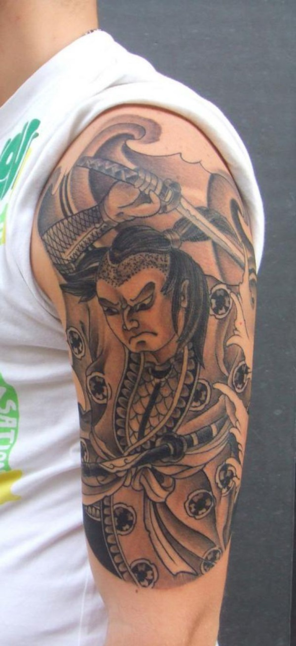 50 Cool Japanese Sleeve Tattoos for Awesomeness0321