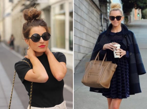 50 Cute Top Knot Bun Hairstyle + Outfit Combos0231
