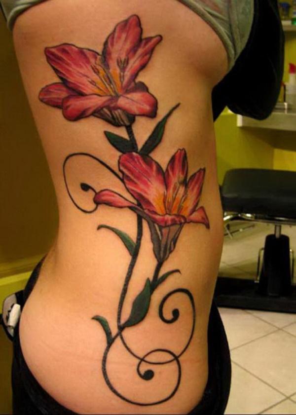 50 Sexy Hawaiian Tribal Tattoos for Girls0091
