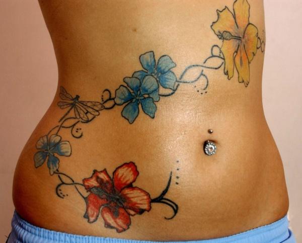 50 Sexy Hawaiian Tribal Tattoos for Girls0141
