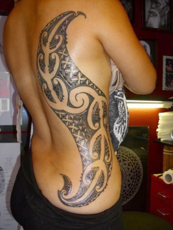 50 Sexy Hawaiian Tribal Tattoos for Girls0231