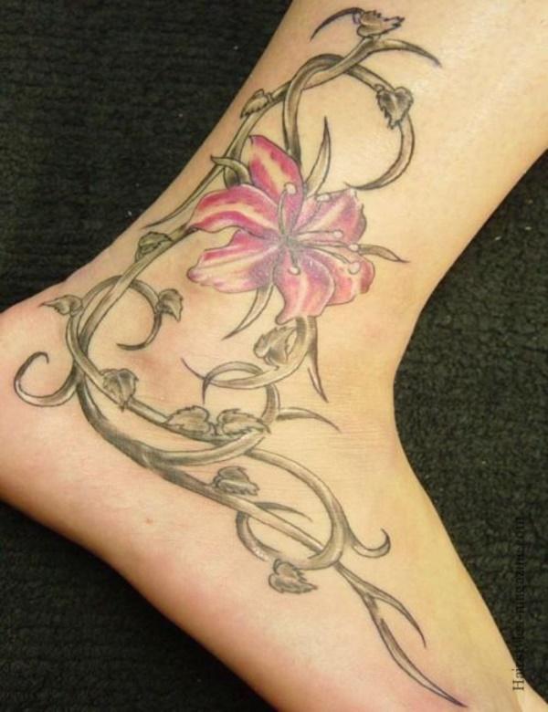 50 Sexy Hawaiian Tribal Tattoos for Girls0281