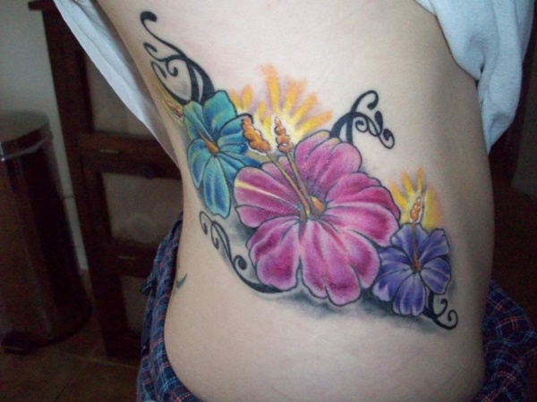 50 Sexy Hawaiian Tribal Tattoos for Girls0291