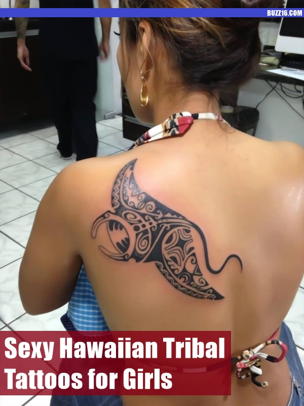 50 Sexy Hawaiian Tribal Tattoos for Girls0441