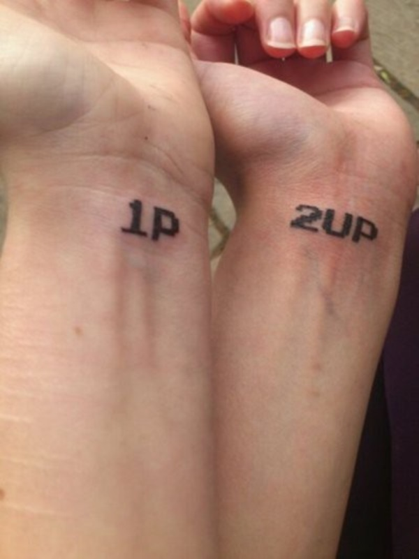 Adorable Couple Tattoo Designs and Ideas (10)