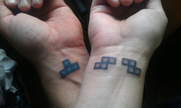 Adorable Couple Tattoo Designs and Ideas (15)