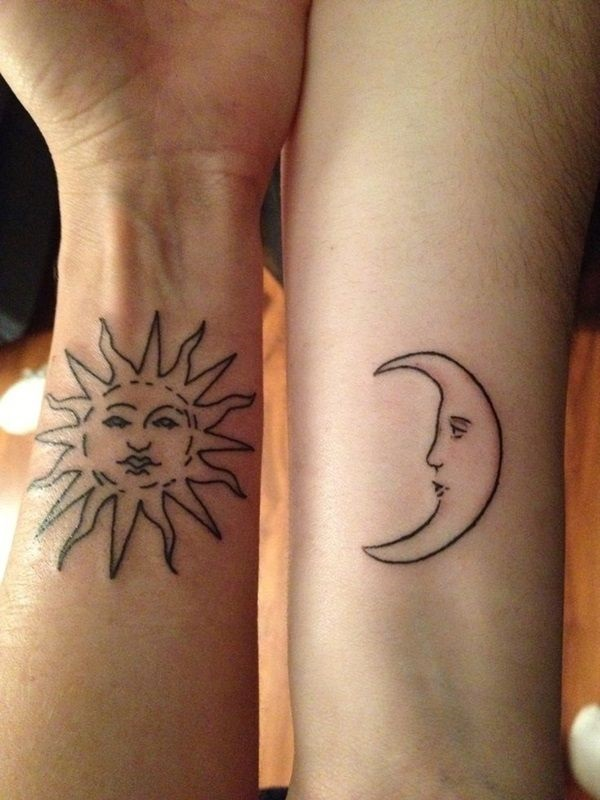 Adorable Couple Tattoo Designs and Ideas (16)