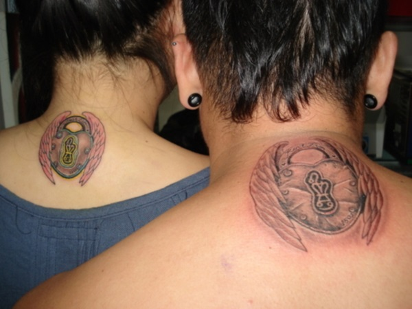 Adorable Couple Tattoo Designs and Ideas (34)
