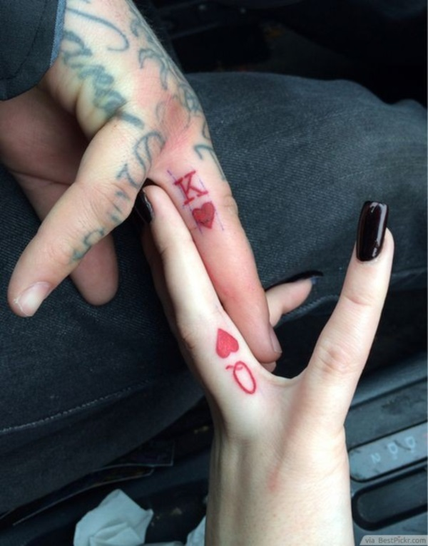 Adorable Couple Tattoo Designs and Ideas (38)