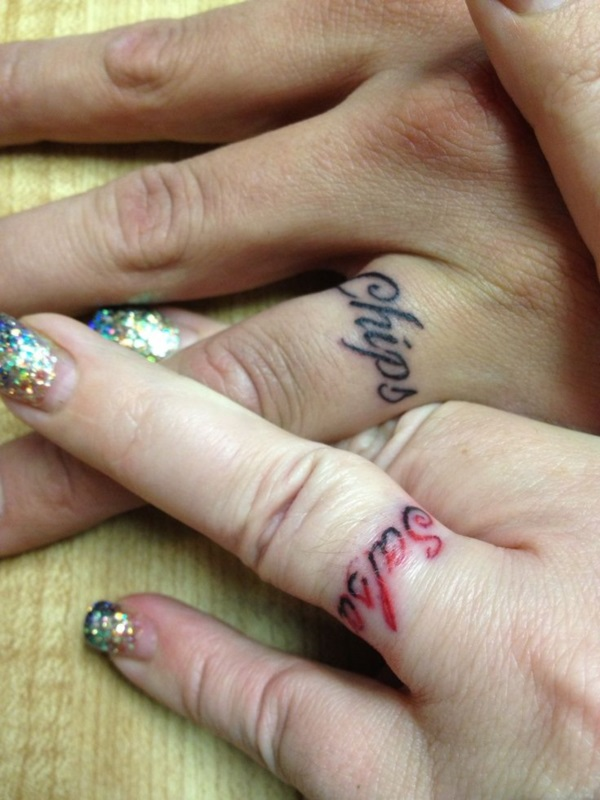 Adorable Couple Tattoo Designs and Ideas (4)